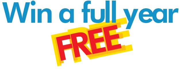 Win a full year FREE for home based travel agent banner